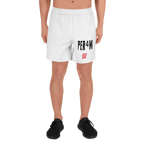 LUSU Designs Men's Athletic Long Shorts Collection PER4M Fire Label I
