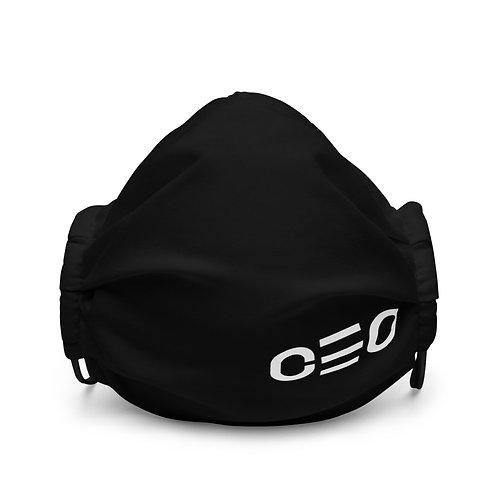 LUSU Designs Premium Face Mask CEO Blanco Label III
