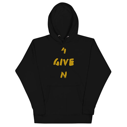 LUSU Designs Unisex Hoodie Collection 4Given Midas Label I
