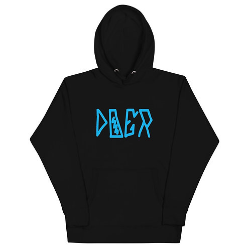 LUSU Designs Unisex Hoodie Collection Doer Azure Label I