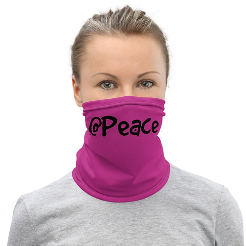 LUSU Designs Neck Gaiter @Peace Label III