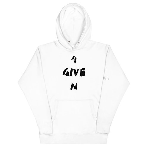 LUSU Designs Unisex Hoodie Collection 4Given Noir Label III