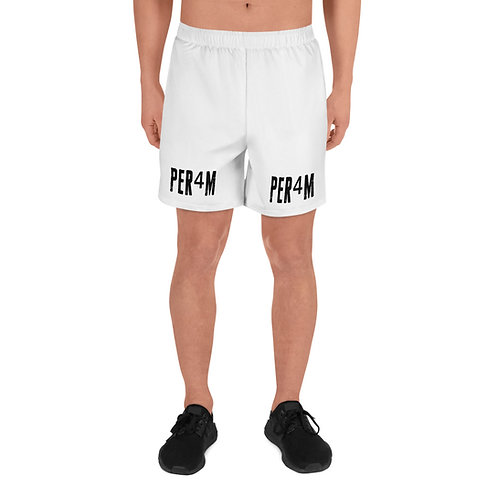 LUSU Designs Men's Athletic Long Shorts Collection PER4M Fire Label III