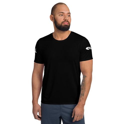 LUSU Designs Men's Athletic MaxDri T-shirt Better Ball Out Blanco Label III