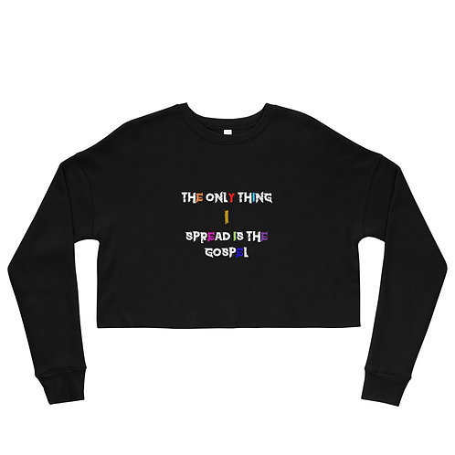 LUSU Designs Crop Sweatshirt Collection Gospel III Label II