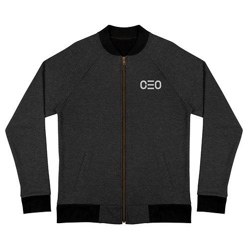 LUSU Designs Bomber Jacket Collection CEO Blanco Label