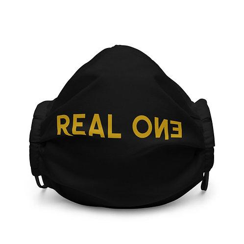 LUSU Designs Premium Face Mask Real One Midas Label I