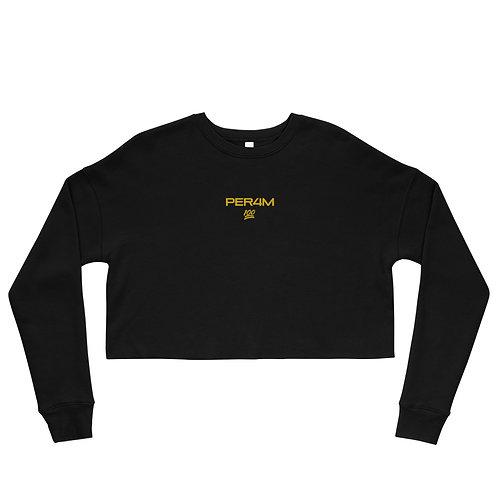 LUSU Designs Crop Sweatshirt Collection PER4M Midas Label III