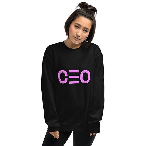 LUSU Designs Unisex Sweatshirt Collection CEO Flamingo Label