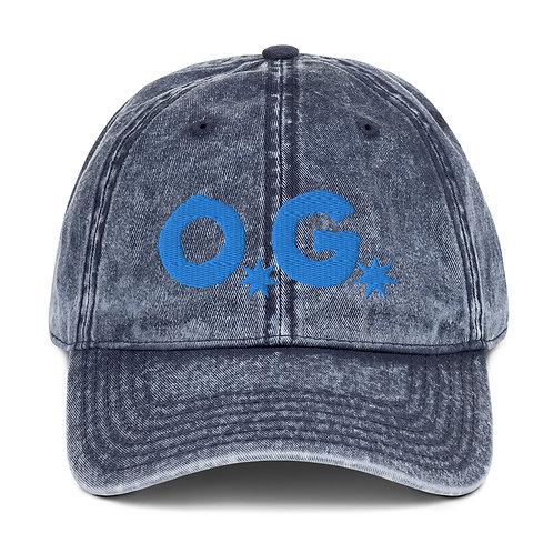 LUSU Designs Vintage Cotton Twill Cap Collection OG Azure Label
