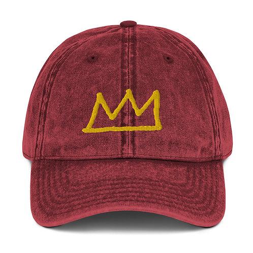 LUSU Designs Vintage Cotton Twill Cap Collection Crown Midas Label II