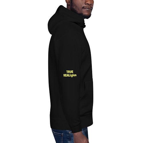 LUSU Designs Unisex Hoodie Collection True REALigion Canary Label II