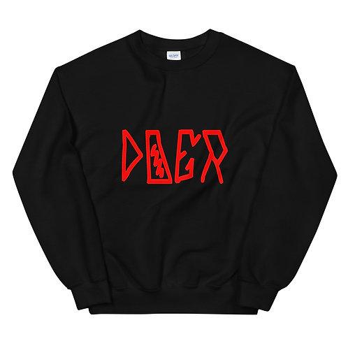 LUSU Designs Unisex Sweatshirt Collection Doer Fire Label