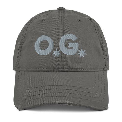 LUSU Designs Distressed Dad Hat Collection OG Platinum Label