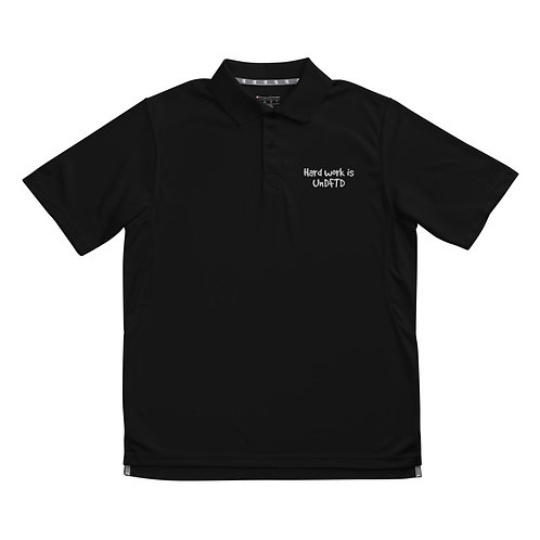 LUSU Men's Performance Polo Collection UnDFTD Blanco Label II