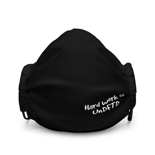 LUSU Designs Premium Face Mask UnDFTD II Blanco Label III