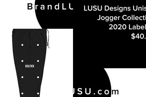LUSU Designs Unisex Jogger Collection 2020 Label IV