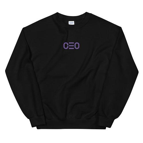 LUSU Designs Unisex Sweatshirt Collection CEO Purple Label II