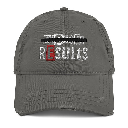 LUSU Designs Distressed Dad Hat Collection Results Label I