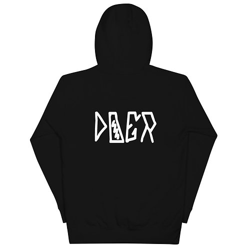 LUSU Designs Unisex Hoodie Collection Doer Blanco Label II
