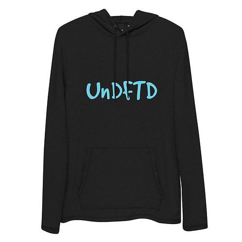 LUSU Designs Unisex Lightweight Hoodie Collection UnDFTD Aqua Label