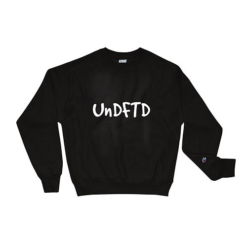 LUSU Designs Champion Sweatshirt Collection UnDFTD Blanco Label