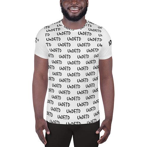 LUSU Designs Men's Athletic MaxDri T-shirt UnDFTD Noir Label IV
