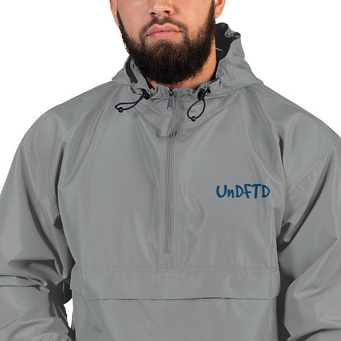 LUSU Designs Embroidered Packable Jacket Collection UnDFTD Royal Label