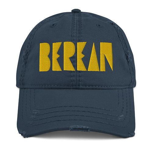 LUSU Designs Distressed Dad Hat Collection Berean Midas Label
