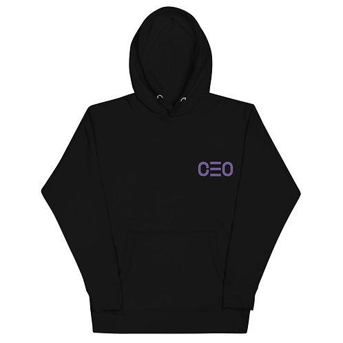 LUSU Designs Unisex Hoodie Collection CEO 2 Purple Label