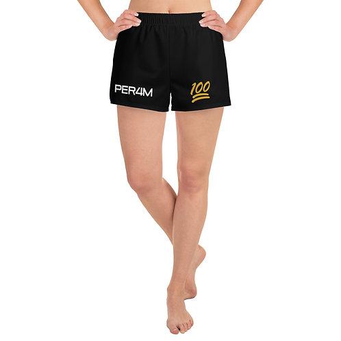 LUSU Designs Women's Athletic Short Shorts PER4M Midas Label II