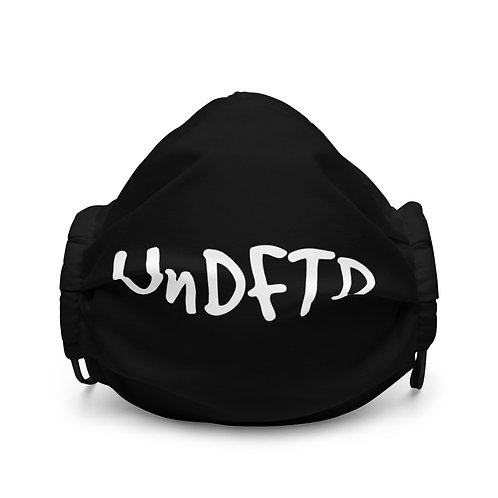 LUSU Designs Premium Face Mask UnDFTD Blanco Label I