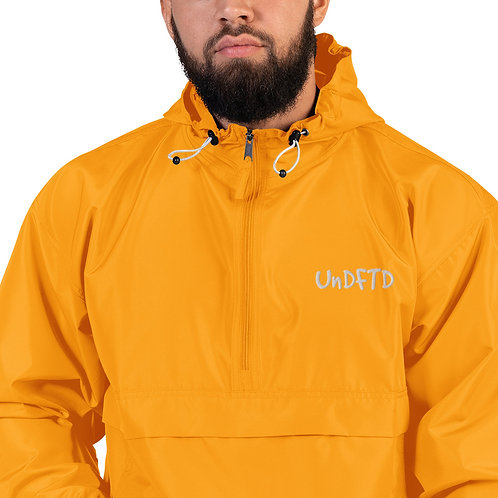 LUSU Designs Embroidered Packable Jacket Collection UnDFTD Blanco Label