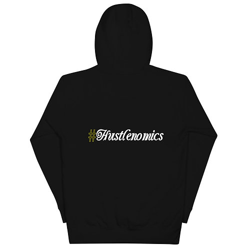 LUSU Designs Unisex Hoodie Collection Hustlenomics 2 Label IV
