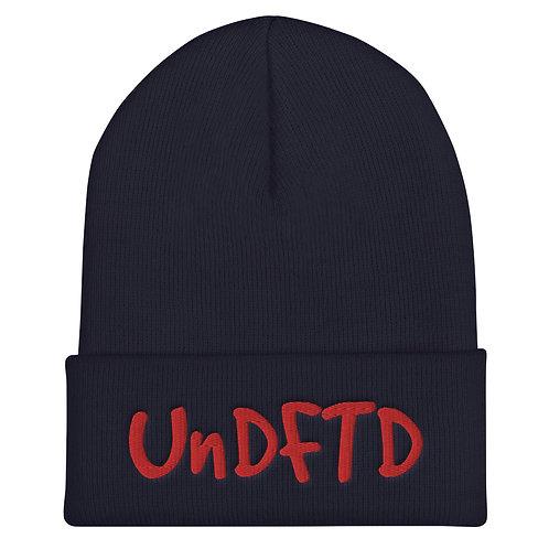 LUSU Designs Cuffed Beanie Collection UnDFTD Fire Label