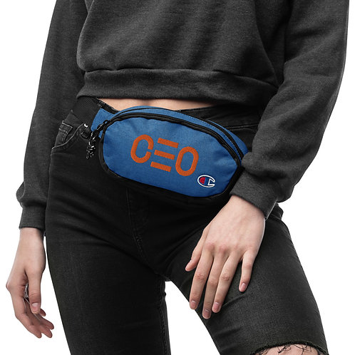 LUSU Champion Fanny Pack CEO Tangerine Label