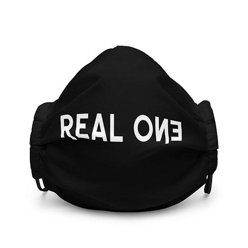 LUSU Designs Premium Face Mask Real One Blanco Label I