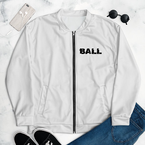 LUSU Designs Unisex Bomber Jacket Collection Ball Out Noir Label