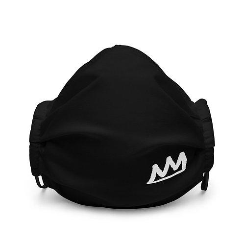 LUSU Designs Premium Face Mask White Crown Label II