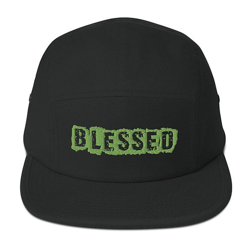 LUSU Designs 5 Panel Camper Collection Blessed Kiwi Label