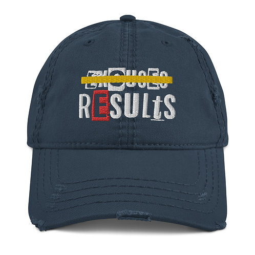 LUSU Designs Distressed Dad Hat Collection Results Label II