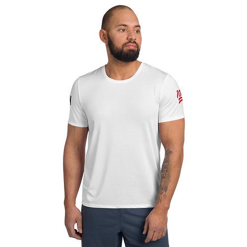 LUSU Designs Men's Athletic MaxDri T-shirt PER4M Fire Label III
