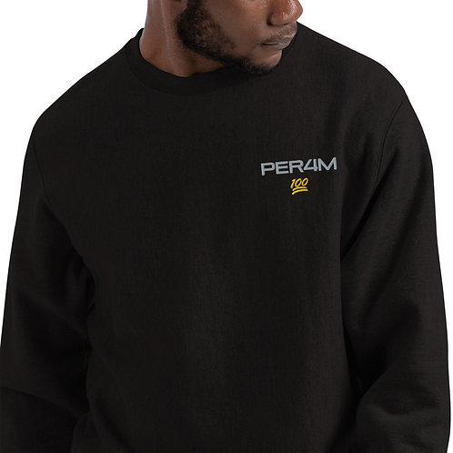 LUSU Designs Champion Sweatshirt Collection PER4M Midas Label V