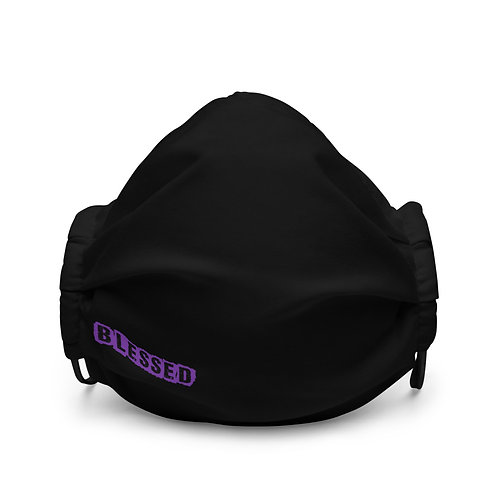 LUSU Designs Premium Face Mask Blessed Purple Label II
