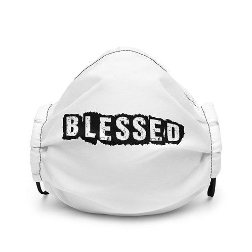 LUSU Designs Premium Face Mask Blessed Noir Label I