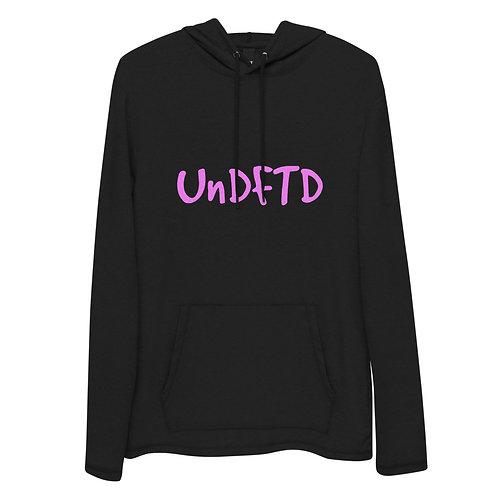 LUSU Designs Unisex Lightweight Hoodie Collection UnDFTD Flamingo Label