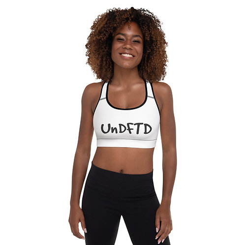 LUSU Designs Padded Sports Bra Collection UnDFTD Noir Label II