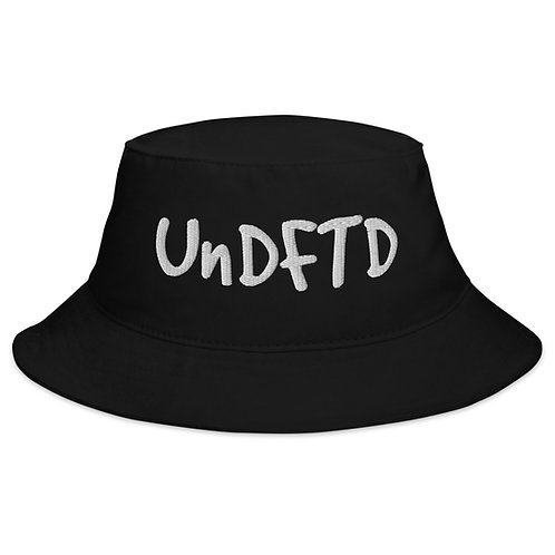 LUSU Designs Bucket Hat Collection UnDFTD White Label