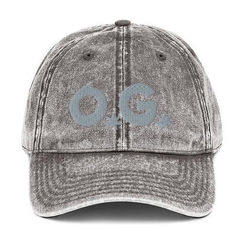 LUSU Designs Vintage Cotton Twill Cap Collection OG Platinum Label I