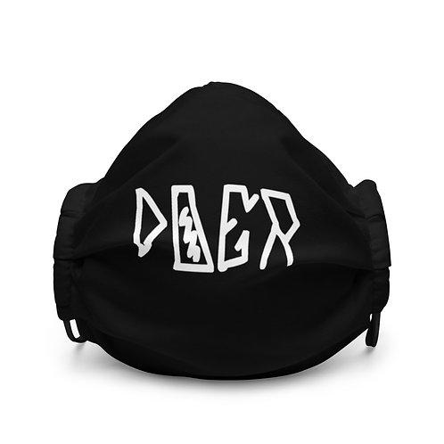 LUSU Designs Premium Face Mask Doer Blanco Label I